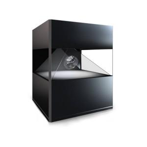borne holographique numérique objet en 3D