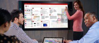 iWork office suite application tactile présentation