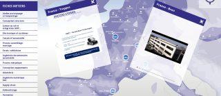 iMaps multitouch cartographie numérique