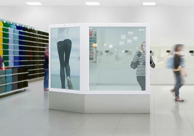 miroir interactif tactile avec r alit augment e