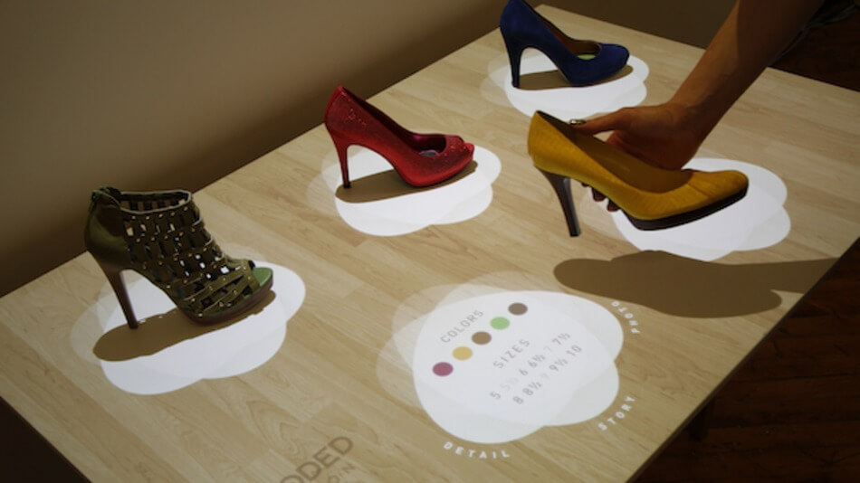 reconnaissance d'objet avec technologie perch interactive