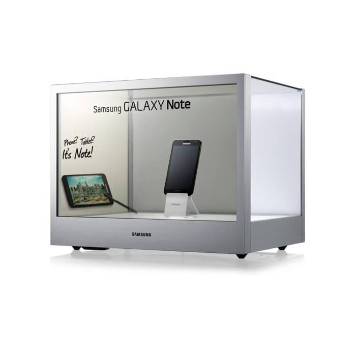 SAMSUNG NL22B écran transparent