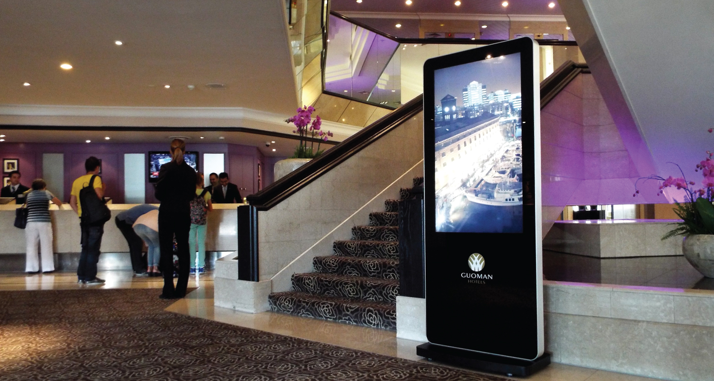Solutions digital hôtellerie accueil