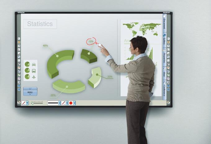 tableau blanc interactif pour la médiation culturelle
