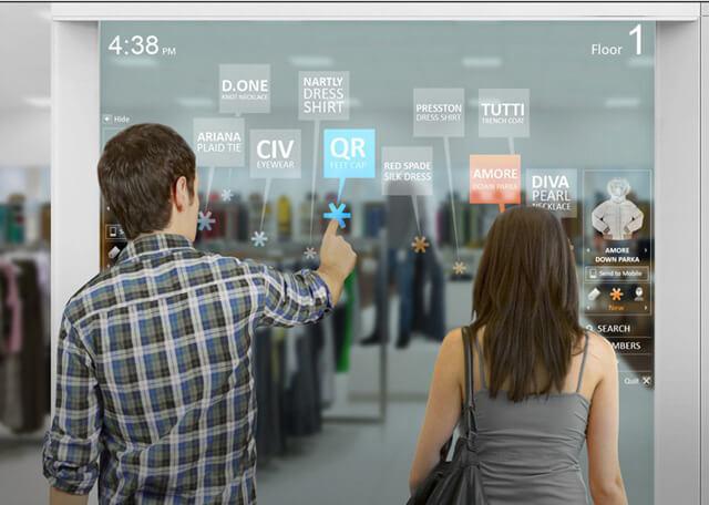 totem miroir magique pour la digitalisation commerciale
