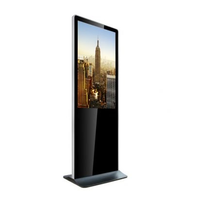 Totem multimedia 43 pouces PLV dynamique HD