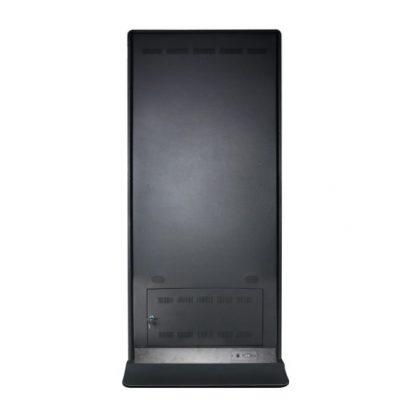 Totem multimedia 65 pouces PLV dynamique connectiques
