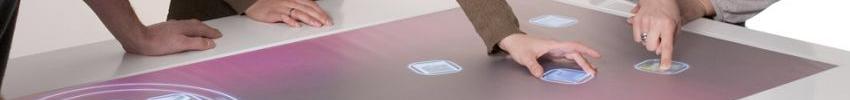 Totem tactile Outdoor 47 pouces reconnaissance d'objets