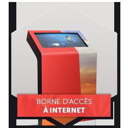 Borne accès internet mairie digitale
