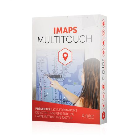 Application tactile cartographie interactive multitouch