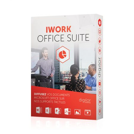 Application tactile multitouch iWork Office Suite