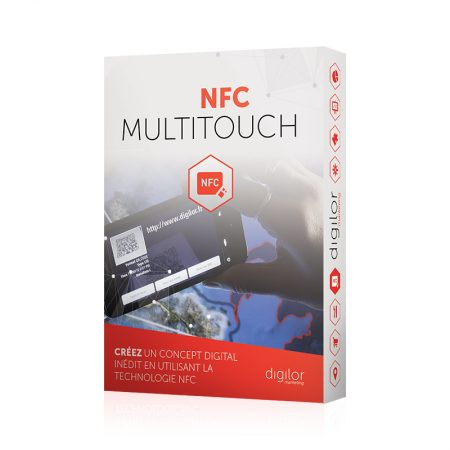 Application tactile multitouch NFC