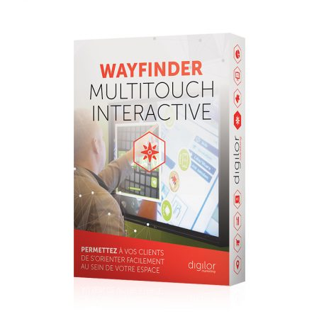Application tactile Wayfinder Multitouch Interactive
