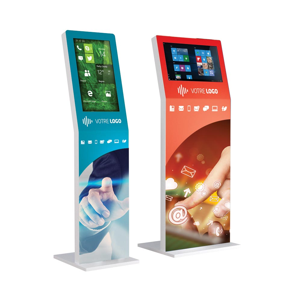 Borne tactile iKiosk 22 pouces