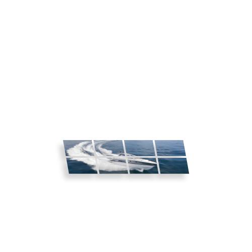 Mur d'images écran interactif 2x4