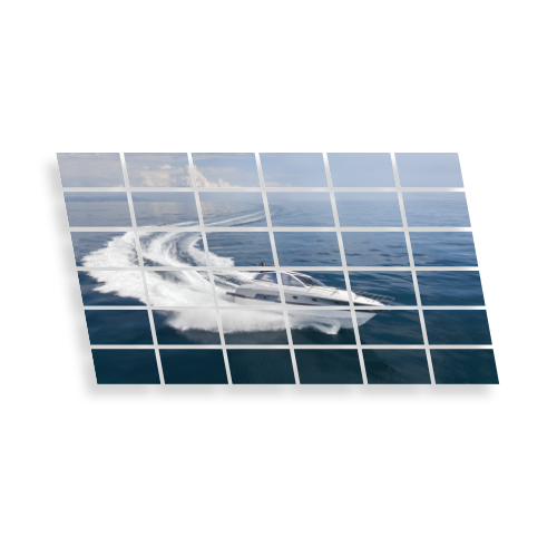 Mur d'images écran interactif 6x6