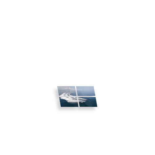 Mur d'images écran interactif 2x2