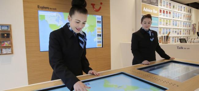 Agence voyage digitale interactive