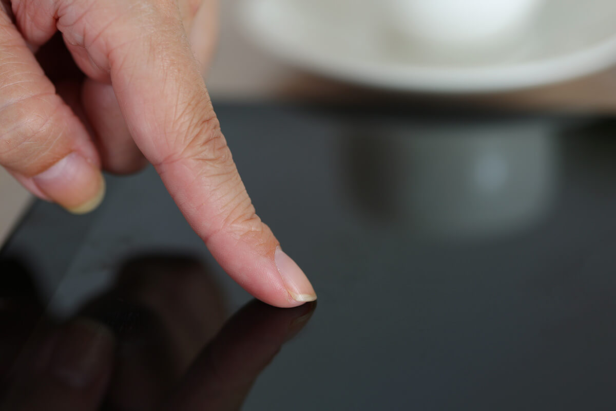 Concession automobile dispositif tactile multitouch