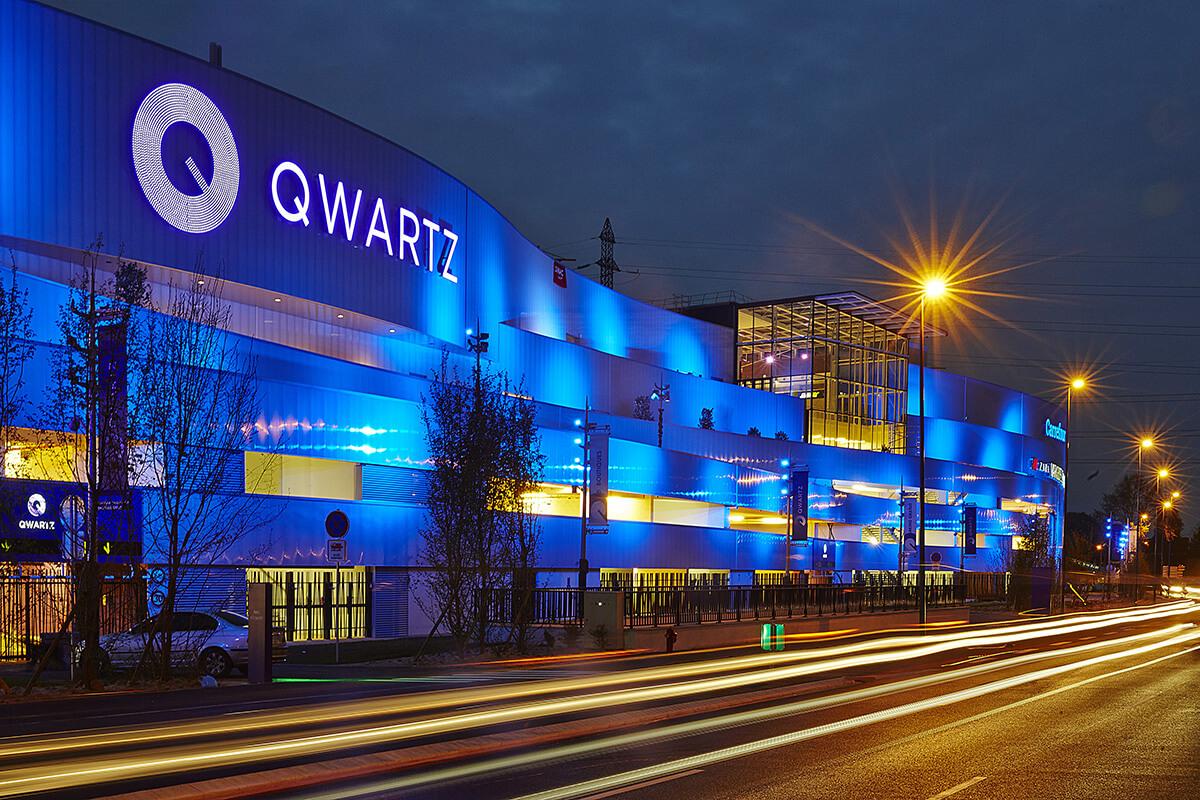 Qwartz centre commercial nouvelles technologies
