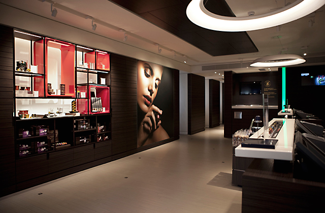 Showroom tactile Nespresso