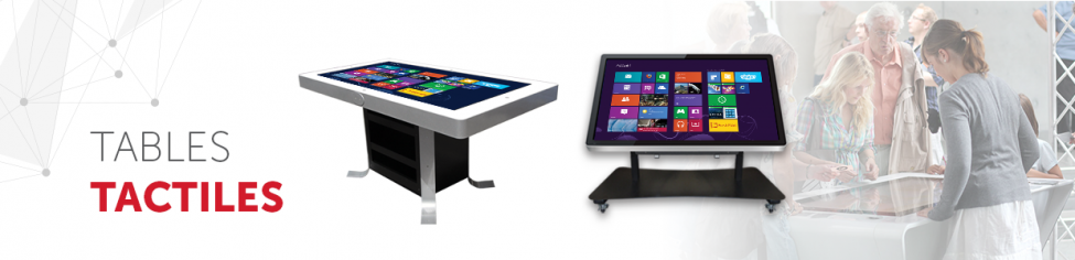tables tactiles interactive multitouch