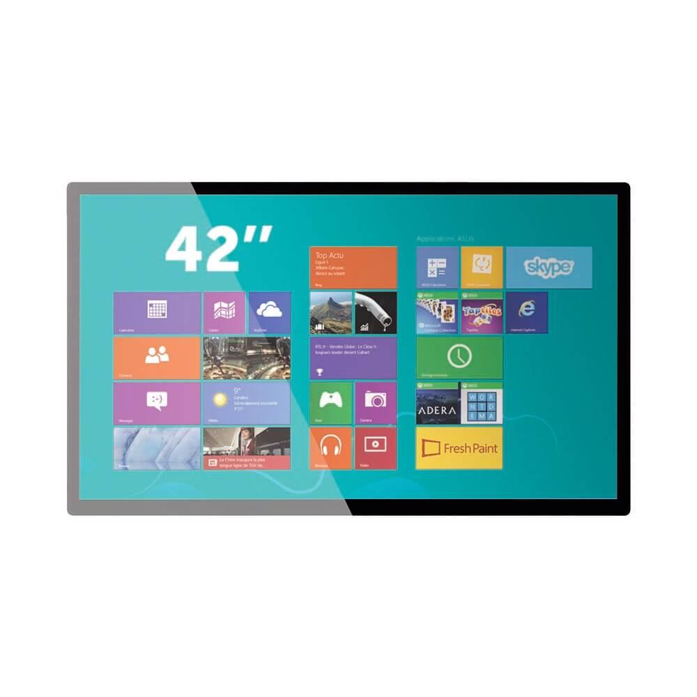 Ecran tactile 42 pouces capacitif projeté