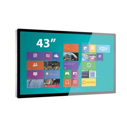 Ecran tactile 43 pouces capacitif projeté