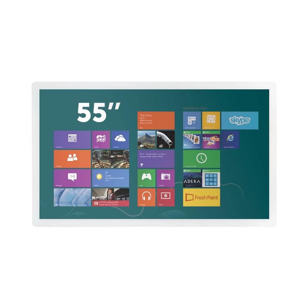 Ecran tactile 55 pouces capacitif projeté