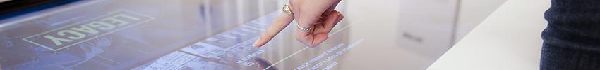 Ecran tactile 55 pouces infrarouge présentation