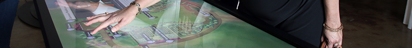 Ecran tactile 55 pouces infrarouge multimedia