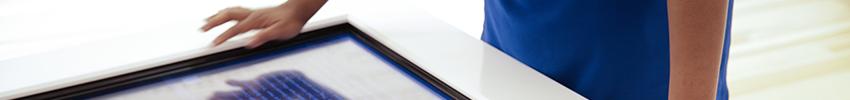 Ecran tactile 55 pouces infrarouge multitouch