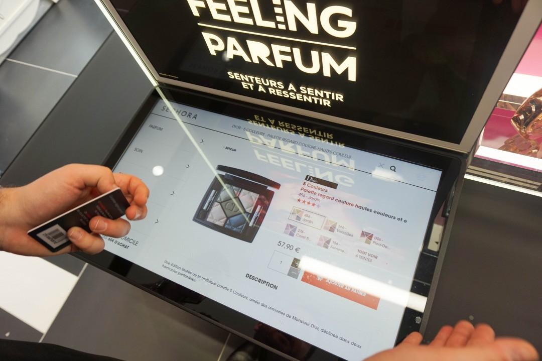 Sephora Flash carte NFC interactive