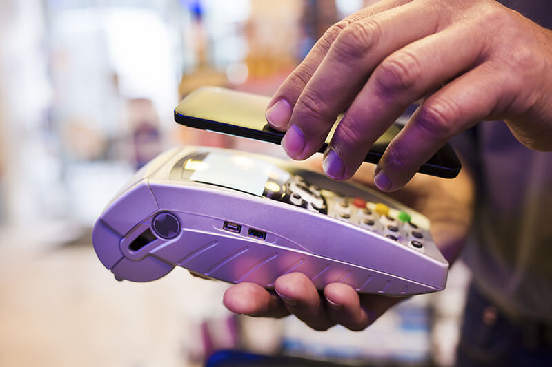 Retail NFC technologie