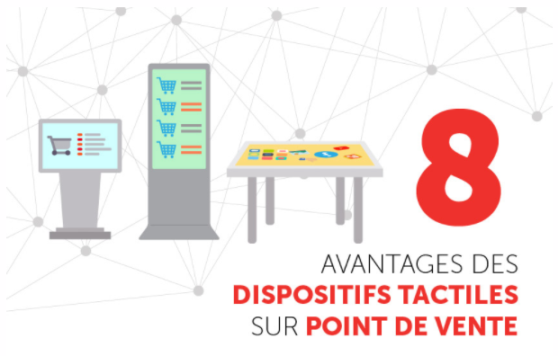 Avantages dispositifs tactiles