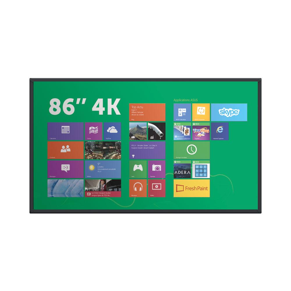 Ecran tactile 86 pouces 4K