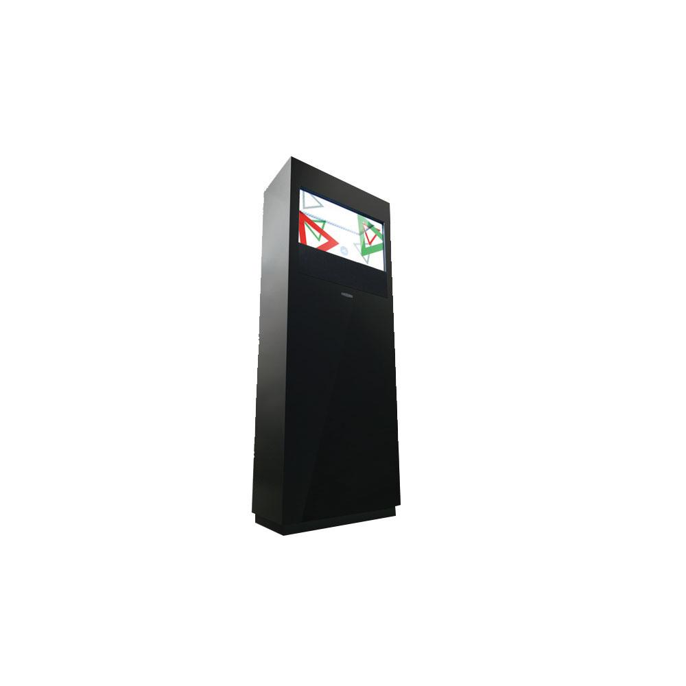 Totem tactile avec écran transparent 22 pouces