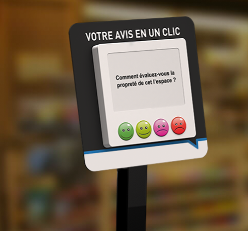Instore Survey borne magasin
