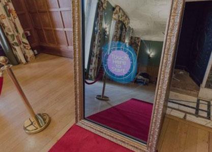 Miroir connecté pour événements