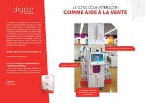 Le catalogue interactif comme aide à la vente