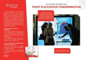 La vitrine interactive, point d'accroche consommateur