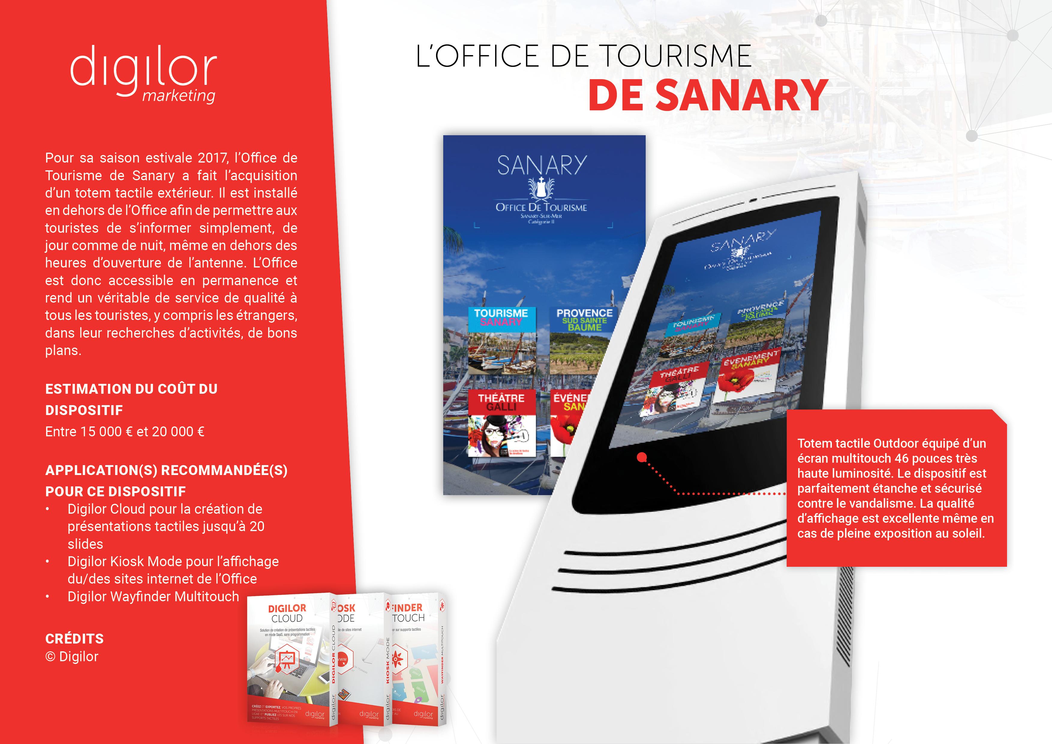 L'Office de Tourisme de Sanary