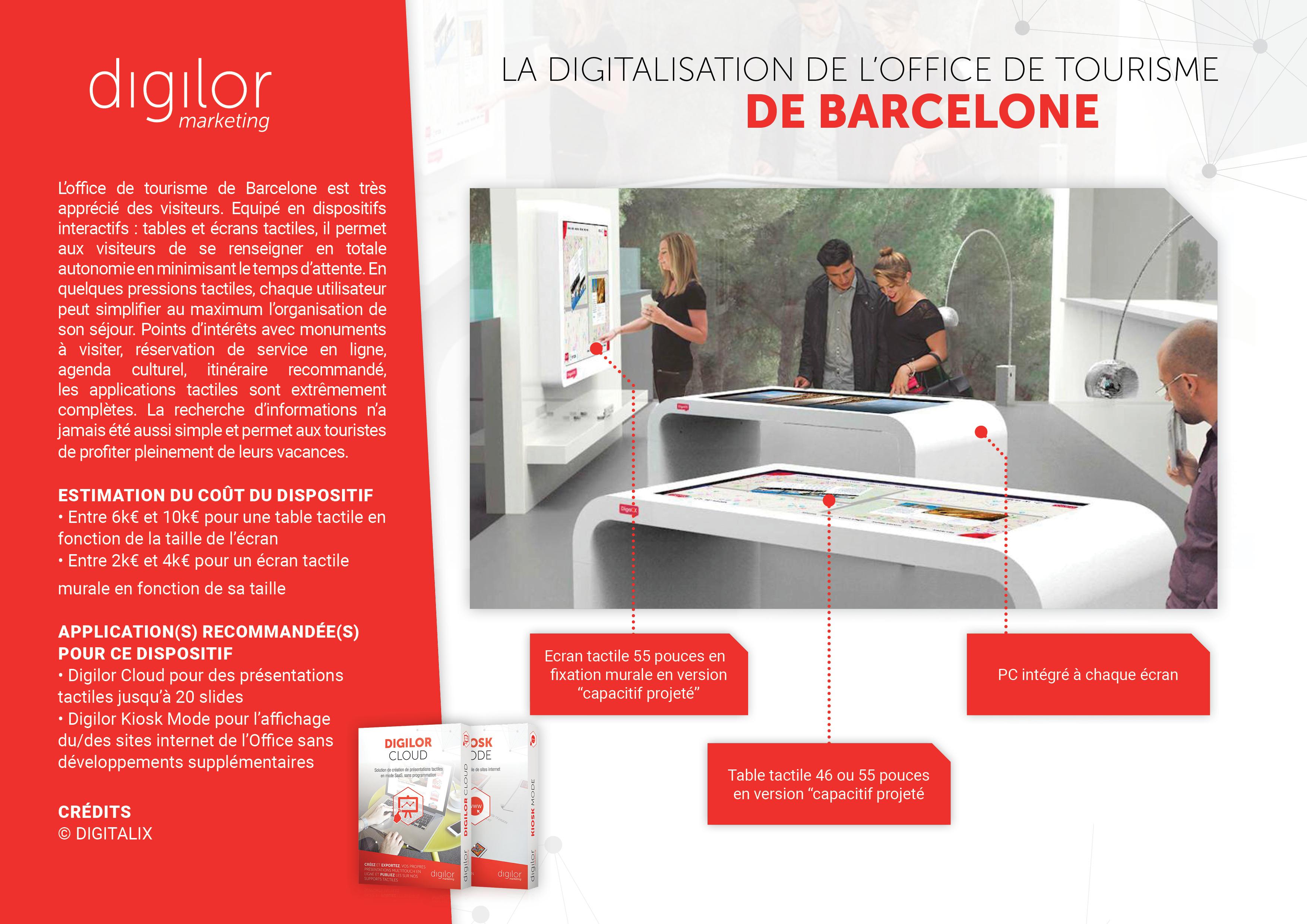 La digitalisation de l'Office de Tourisme de Barcelone