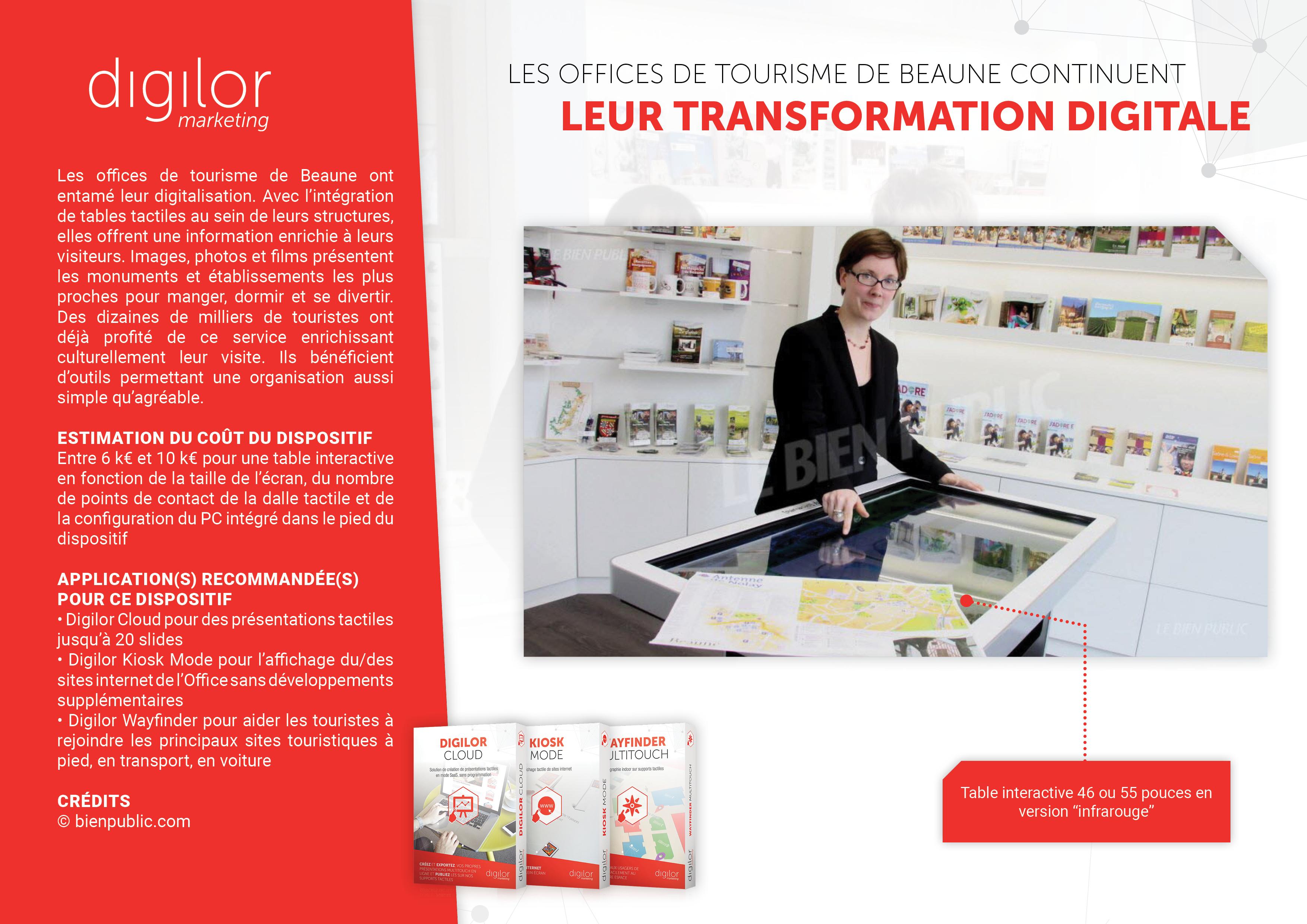 Les Offices de Tourisme de Beaune continuent leur transformation digitale