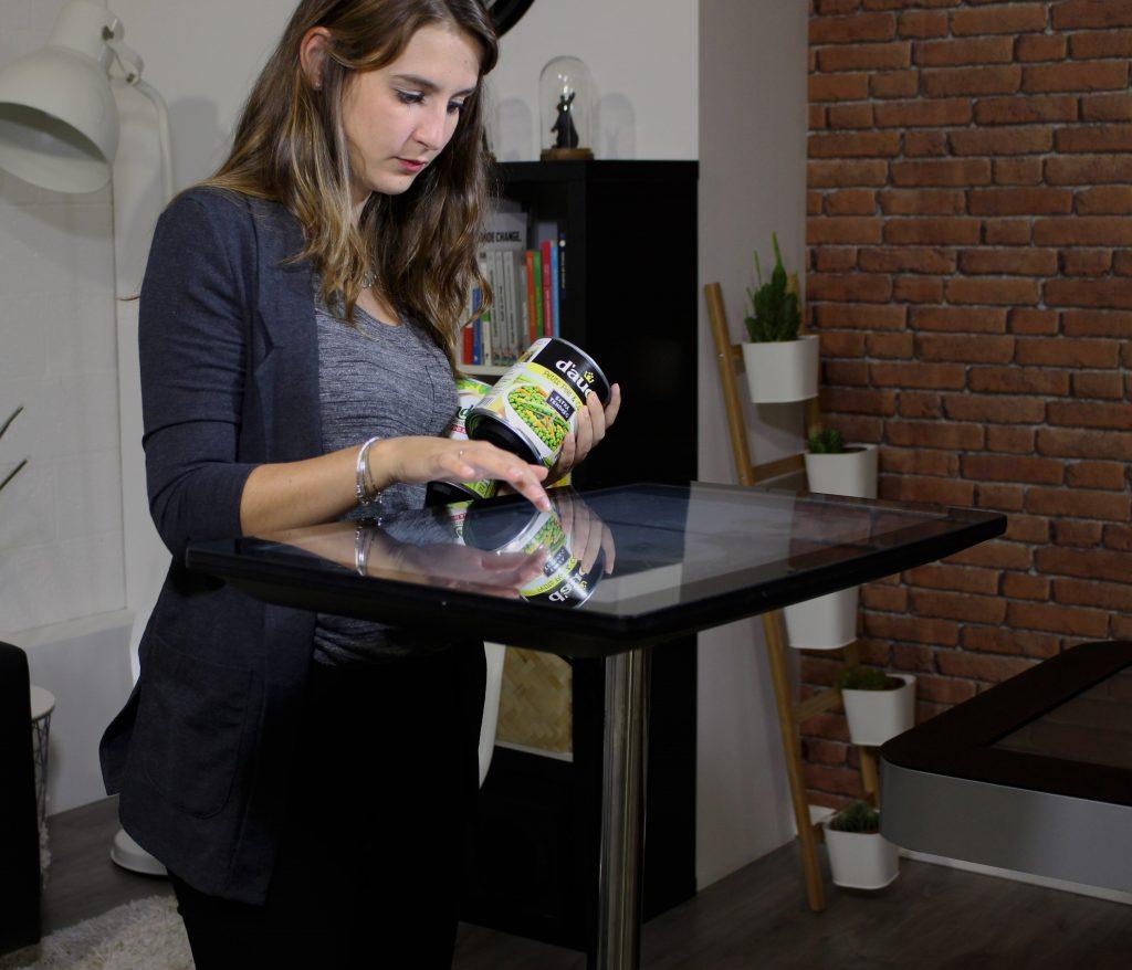 Reconnaissance objet tactile innovation