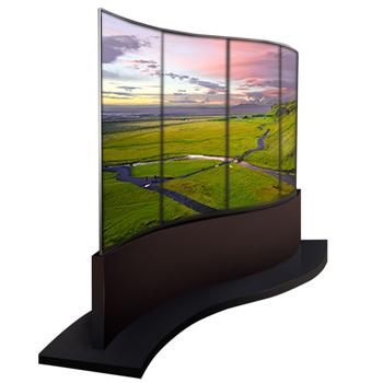 Ecran OLED double face 65 pouces HD