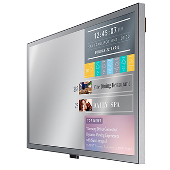 Miroir connecté intelligent HD