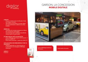 Qarson, la concession mobile digitale