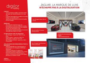 Jaguar, la marque de luxe n'échappe pas à la digitalisation