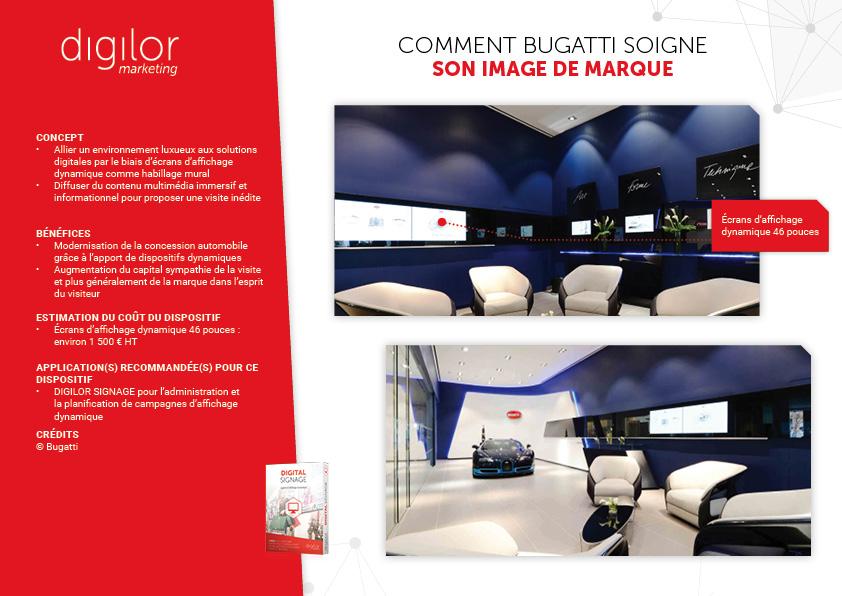 Comment Bugatti soigne son image de marque